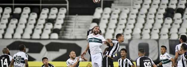 Coritiba quer impugnação de jogo contra o Botafogo