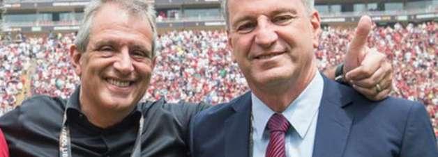 Dirigente do Fla defende retorno da torcida aos estádios