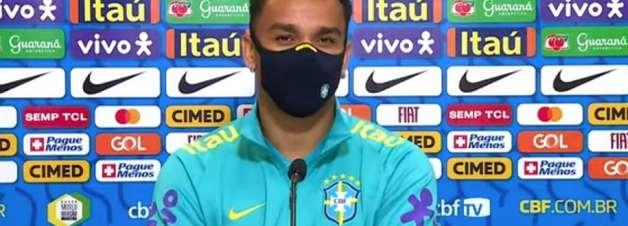 'Quanto mais tenho tempo em campo, melhor me sinto', afirma Danilo sobre seu desempenho na Seleção