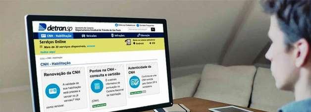 18 serviços do Detran online. O que dá para fazer pela web?
