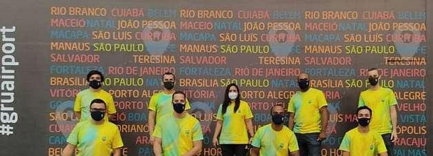 COB embarca para o Japão e inicia a montagem da estrutura da Missão Brasileira