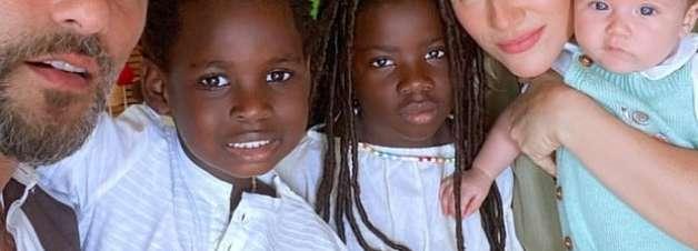 Bruno Gagliasso revela conversa séria que teve com filhos sobre racismo