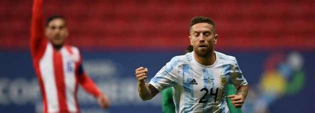 Burocrática, Argentina bate Paraguai e avança de fase na Copa América