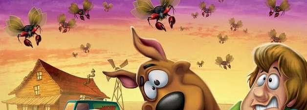 Trailer de animação junta Scooby-Doo e Coragem, o Cão Covarde
