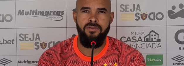 """SPORT: Zé Welison comemora empate fora de casa contra o Santos: """"Um ponto importante"""""""