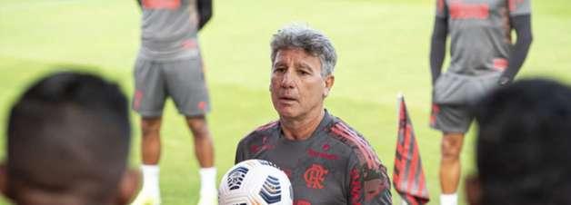 Renato Gaúcho aparece no BID e estreia pelo Flamengo
