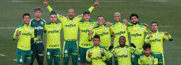 Palmeiras realiza treinos táticos com Borja em campo e finaliza preparação para o Choque-Rei