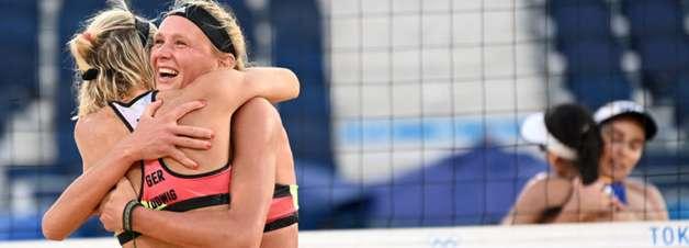 Vôlei de praia: Agatha e Duda perdem e estão fora dos Jogos Olímpicos