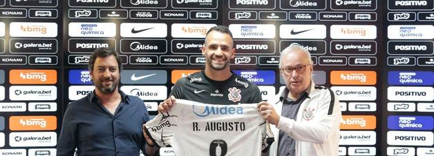 """Renato Augusto prevê jogar de """"20 a 30 minutos"""" em reestreia"""