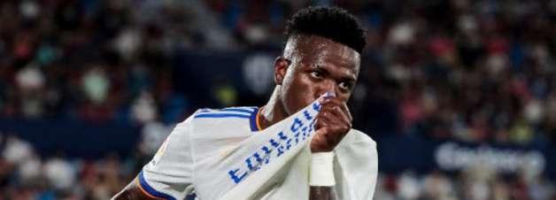 Liga: técnico da Inter pede atenção com Vinícius Júnior