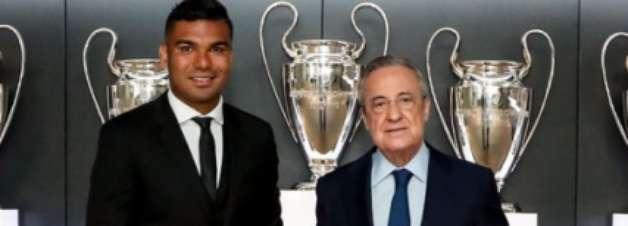 Casemiro renova contrato com o Real Madrid até 2025