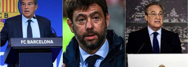 Barcelona, Juventus e Real querem criar a Superliga Europeia