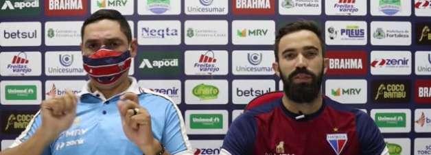 """FORTALEZA: Matheus Vargas comemora seu primeiro gol pelo clube: """"Muito feliz"""""""