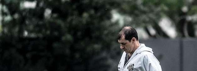 Carille quer fortalecer linha de quatro no Santos