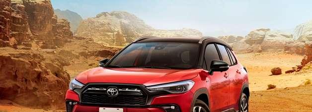 Toyota revela o Corolla Cross GR Sport