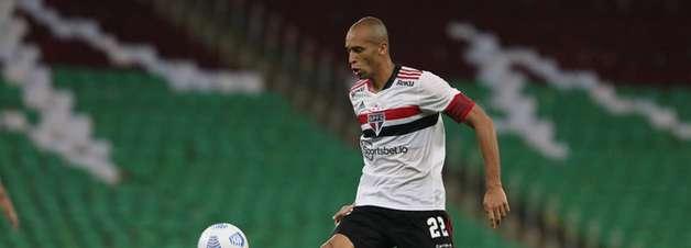 Miranda será desfalque do São Paulo contra Atlético-GO
