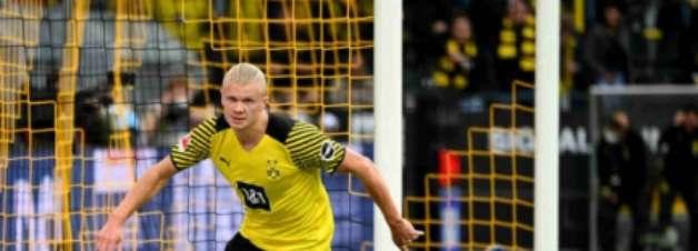 Dortmund atropela Union Berlin com 2 gols de Haaland