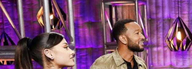 Ariana Grande é bloqueada pela primeira vez no The Voice USA