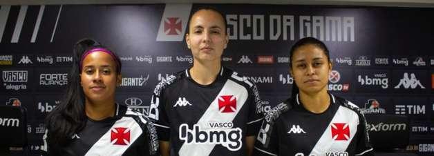 Meninas da Colina: Vasco acerta a contratação de três reforços para a temporada do futebol feminino