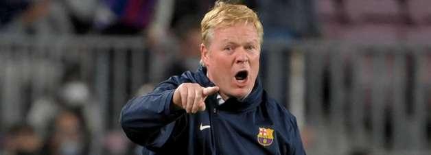 'As coisas vazam, mas não me disseram nada', diz Ronald Koeman sobre possível demissão do Barcelona