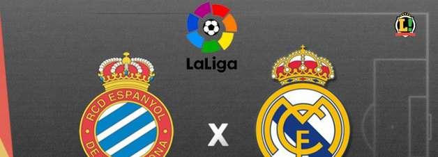 Espanyol x Real Madrid: onde assistir, horário e escalações do jogo do Campeonato Espanhol