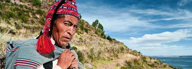 A ilha onde tricotar é tarefa dos homens