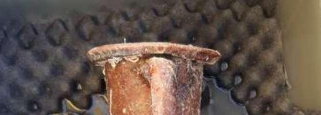 Peças de navio afundado há 2,6 mil anos são recuperadas na Itália