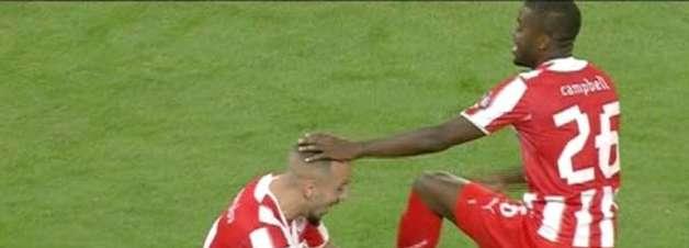 Mitroglou empata para o Olympiacos diante do OFI