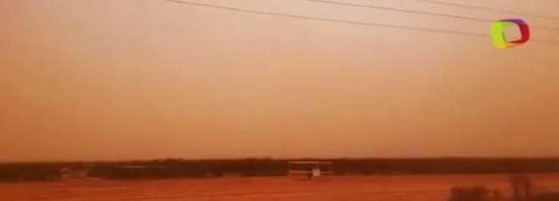 Céu fica laranja após tempestade de areia atingir Austrália