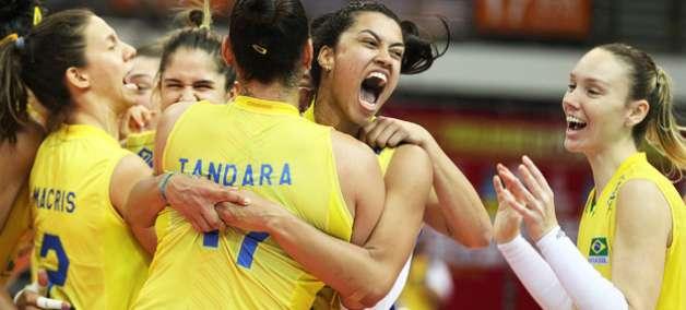 Grand Prix: Seleção feminina vence a Sérvia e está na final