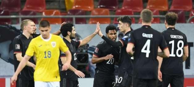 Alemanha vence a Romênia e segura liderança no grupo