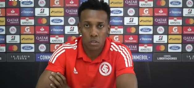 """INTERNACIONAL: Moisés diz que intensidade do time está aumentando a cada jogo no esquema de Miguel Ángel Ramírez: """"mesmo com gols, continuamos marcando lá em cima"""""""