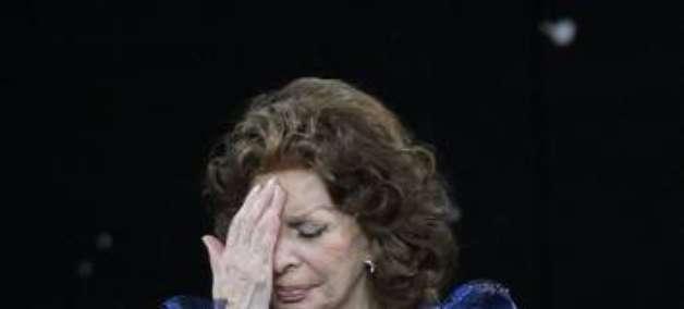 Sophia Loren vence 'David di Donatello' de melhor atriz
