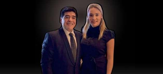 Odiada, última mulher de Maradona perde dois empregos na TV