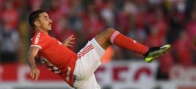 Thiago Galhardo lamenta derrota do Internacional pela Libertadores