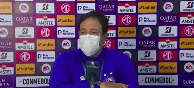 """BAHIA: Dado Cavalcanti cita variáveis na vitória sobre o Guabirá: """"foi um jogo lutado"""""""