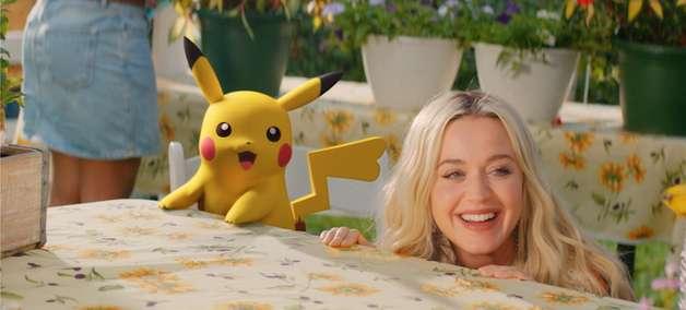 Assista ao vídeo de Electric, com Katy Perry e Pikachu