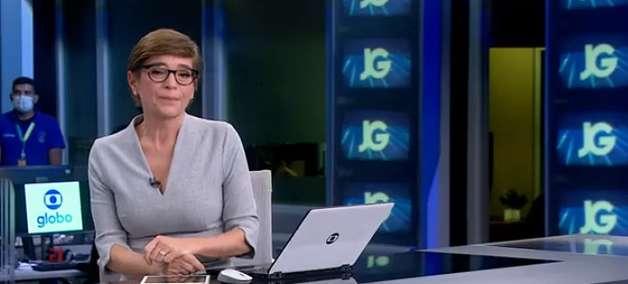 Âncora da Globo se comove ao noticiar morte de colega da TV
