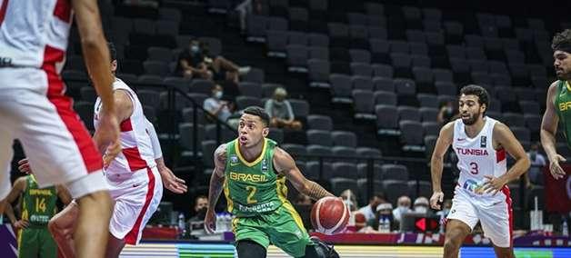 Brasil bate Tunísia e estreia com vitória no Pré-Olímpico