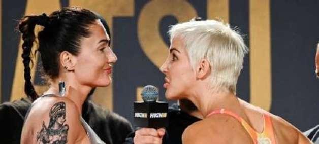 Lutadora provoca rival com vibrador em 'encarada' do MMA