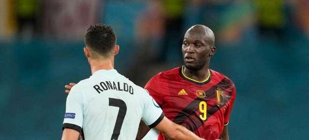 Lukaku pede para não ser comparado com Cristiano Ronaldo