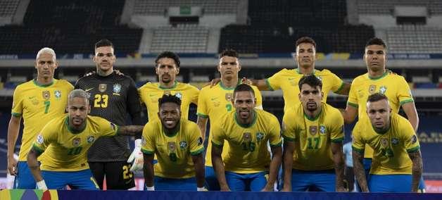 Brasil segue na 2ª posição do ranking de seleções da Fifa