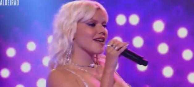 """Duda Beat faz cover de clássico da Britney Spears no """"Caldeirão com Mion"""""""