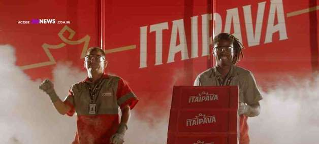 Itaipava leva colaboradores para estrelar uma campanha de TV pela primeira vez