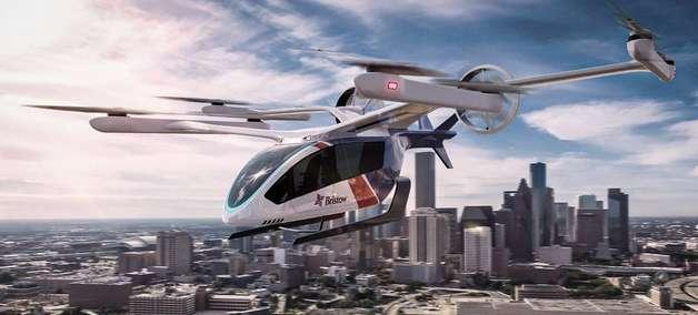Embraer recebe encomenda de 100 'carros voadores'