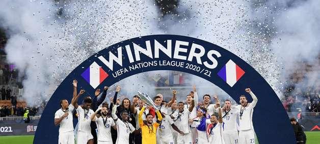 França vira contra a Espanha e conquista a Liga das Nações