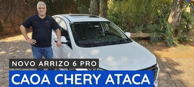 Conheça o Arrizo 6 Pro, novo sedã médio da Caoa Chery