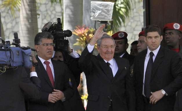 Raúl Castro está certo do sucesso dos novos líderes da Venezuela