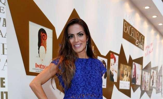 Após perder posto de rainha da Grande Rio, Carla Prata diz: estou feliz