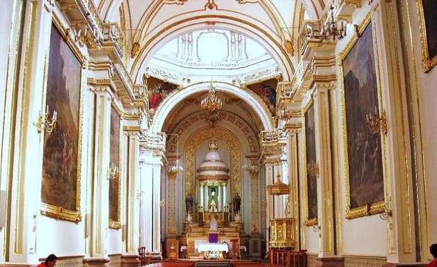 Igreja em Aguascalientes é uma das joias do barroco mexicano